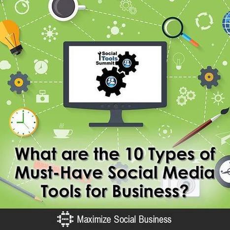 10 Types of Must-Have Social Media Tools for Business | My Social Media Guide | Scoop.it