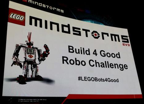 LEGO MINDSTORMS Build 4 Good Robo Challenge event report ... | Lego Robotics | Scoop.it