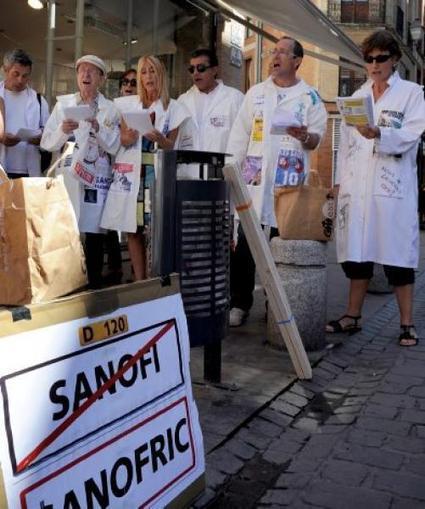 Jour de grève à Sanofi | Les Sanofi | Scoop.it