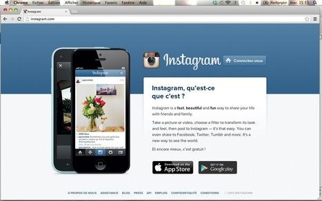 Instagram, la vie passée aux filtres | InaGlobal | Outils numériques pour associations | Scoop.it