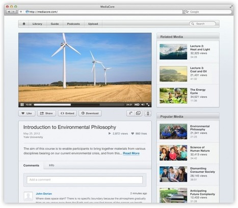 Video Platform MediaCore Refocuses On Education | Collective Intelligence & Distance Learning | Scoop.it