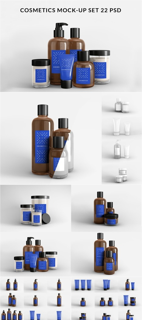 Free Mockups | Beauty Product set | Design Freebies & Deals | Scoop.it