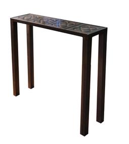 Dadra | Consolas de hierro estilo industrial y forja | CONSOLA DE HIERRO NEO Y BALDOSAS | Muebles de estilo industrial de hierro | Scoop.it