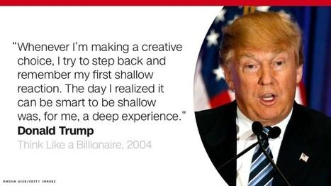 Donald Trump on recording: Not me   forensic phonetics   Scoop.it