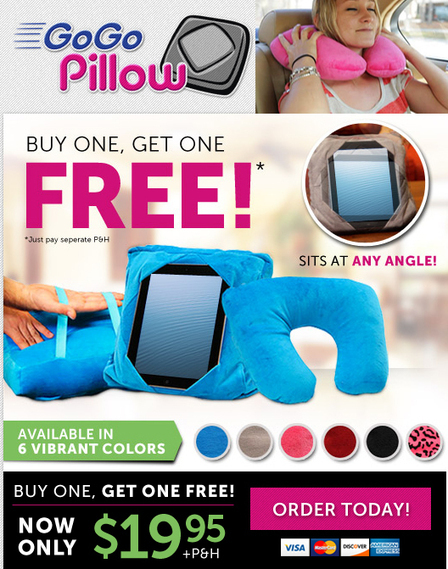 Go Go Pillow - As Seen on TV Canada | As Seen on TV | Scoop.it