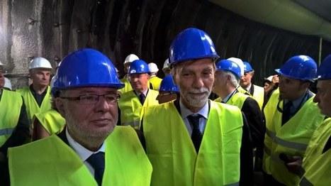 Alain Vidalies sur le chantier du Lyon-Turin | Veille presse Lyon-Turin ferroviaire | Scoop.it