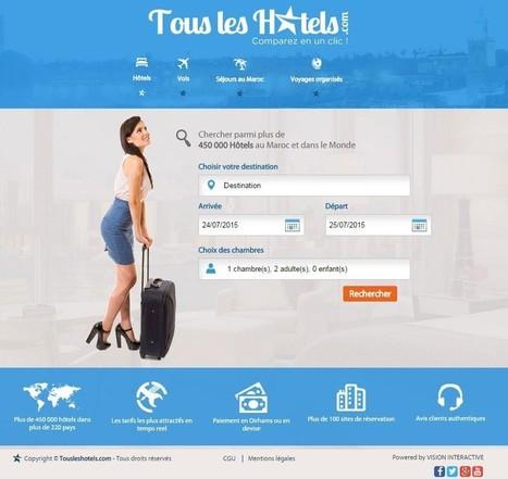 Lancement de TouslesHotels.com 1er Comparateur de prix d'hôtels au Maroc ! | TechnoMag NTIC Maroc | overblog maroc | Scoop.it