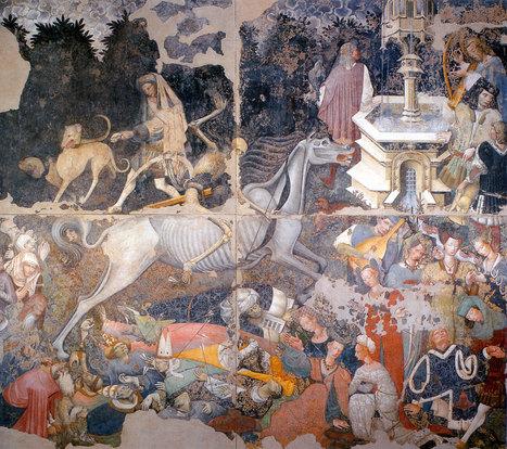 Arte Siciliana: Il Trionfo della Morte. Autore Ignoto, Palazzo Abatellis, Palermo   Learn Italian OnLine   Scoop.it