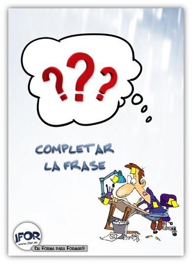 Recursoteca: Completar la frase | Recursoteca | Scoop.it