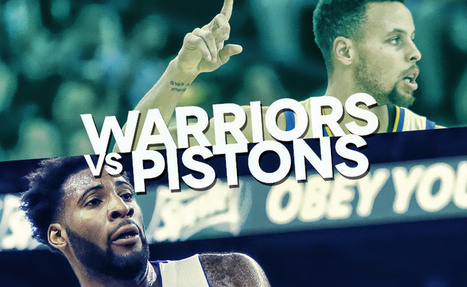 Golden State Warriors – Detroit Pistons NBA: Pronostico e streaming   SPORT STREAMING   Scoop.it