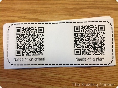 The Reading Corner: QR Codes and the Power of an Ipad | Class Resources | Scoop.it