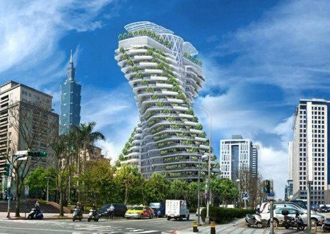 Double Helix Rising: A Green High-Rise Under Construction in Taipei, Taiwan | sustainable architecture | Scoop.it