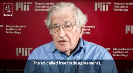 Noam Chomsky maakt TTIP en CETA in amper 2 minuutjes met de grond gelijk | Socialisme Koekelberg | Scoop.it