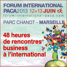 Forum International PACA 2013 | Communiquaction News | Scoop.it
