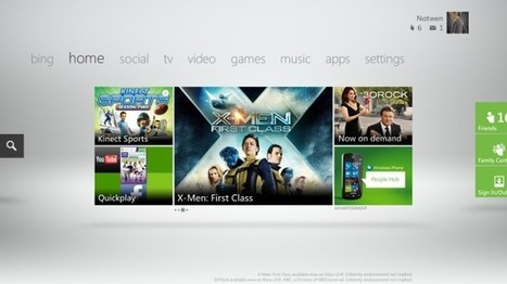 New Xbox update aims to put Microsoft at the heart of TV viewing | All Technology Buzz | Scoop.it