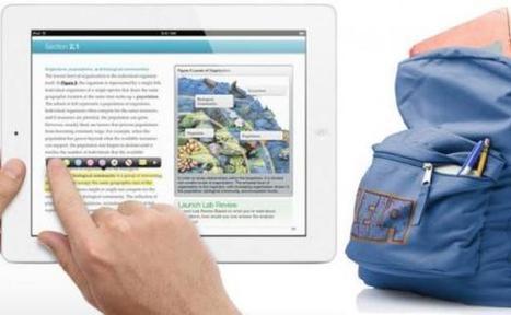 L'iPad veut s'inviter à l'école en cassant les prix des livres scolaires   Mouvement Jeunesse Numérique   Scoop.it