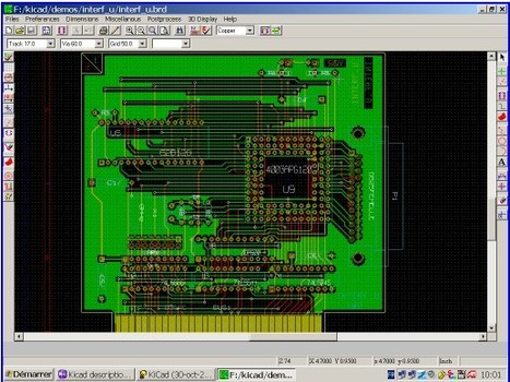 Kicad : creation of electronic schematic diagrams and printed circuit board artwork   Time to Learn   Scoop.it