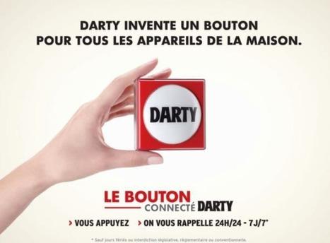 Darty lance officiellement son Bouton connecté | E Marketing : Innovation des marques | Scoop.it