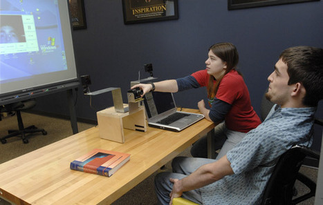 Student learns to control computer with a blink of an eye - RIT News | Eye Tracking for Use in Mobile Devices | Scoop.it