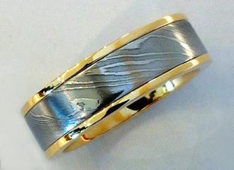 Precious Damascus and Meteorite Rings for al | Rings Unique | Scoop.it