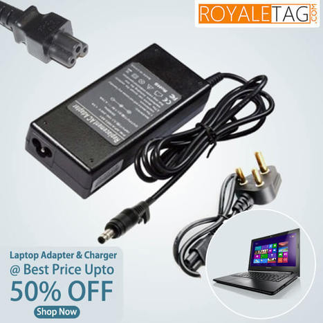 Buy Dell,HP, acer or lenovo #laptopadapter & charger and get upto 50% off. Shop now | royaltag | Scoop.it