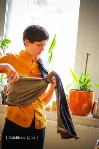 La Petite écharpe sans noeud - le nouveau porte-bébé JPMBB | la tête dans les nouages - le blog! | Moyen de portage (écharpe, porte-bébé...) | Scoop.it