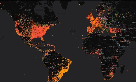 This Map Shows Which Music Genres Are Most Popular Around the World | new music | Scoop.it