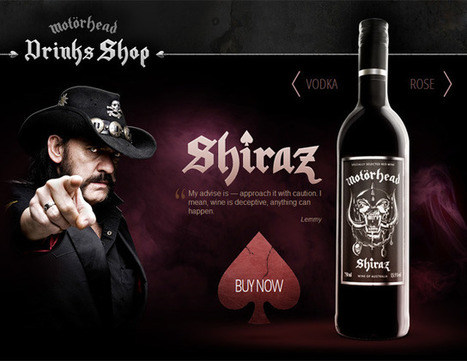 Motörhead Launches Line of Wine and Vodka | Intertainment now | Scoop.it
