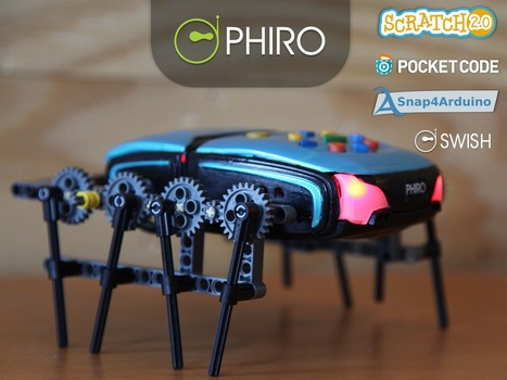 PHIRO: A Smart Robot For Kids - Learn To Code In 5 Ways | Robots and Robotics | Scoop.it