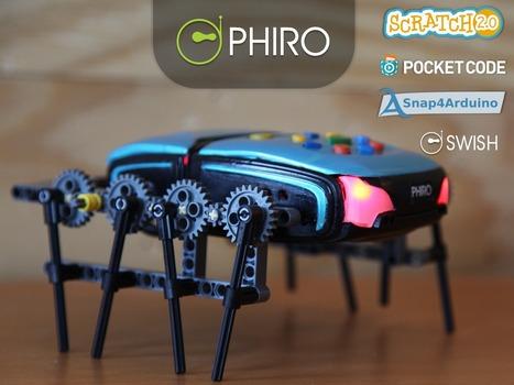 PHIRO: A Smart Robot For Kids - Learn To Code In 5 Ways | Robots and Robotics | Scoop.it
