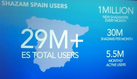 Shazam inicia sus operaciones comerciales en España | Information Technology & Social Media News | Scoop.it