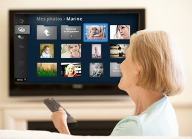 Elderis : la Smart TV au service des seniors - technologie Silver Economy | Gerontechnology | Scoop.it