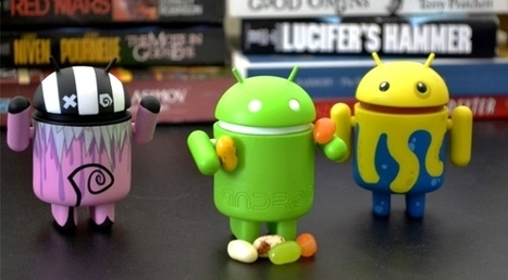 Google's Android grabs record high global market chunk while Apple iOS slides   Educational Technology - Yeshiva Edition   Scoop.it