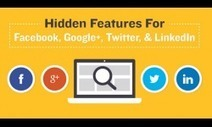 Hidden Social Media Features You Should Know [infographic] | Social Media Today | SocialMoMojo Web | Scoop.it