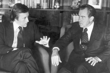 David Frost, Interviewer Who Got Nixon to Apologize for Watergate, Dies at 74   History   Scoop.it