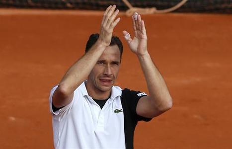 Interview : Llodra : «Pas mon dernier» (Roland Garros 2013) | Tennis & ATP - Vivez la saison 2013 ! | Scoop.it