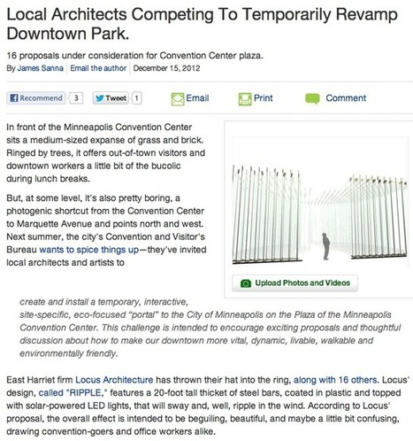 Downtown Minneapolis Park Revamp | Minneapolis Real Estate | Scoop.it