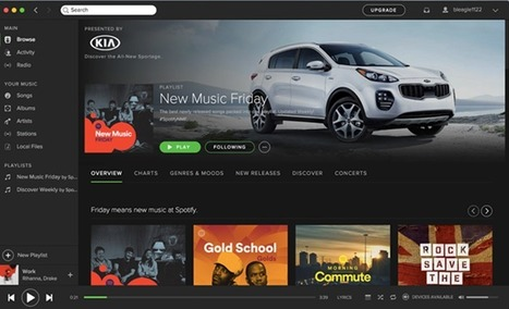 Spotify Now Allows Brands To Sponsor Targeted Playlists - Forbes | E-Music ! | Scoop.it