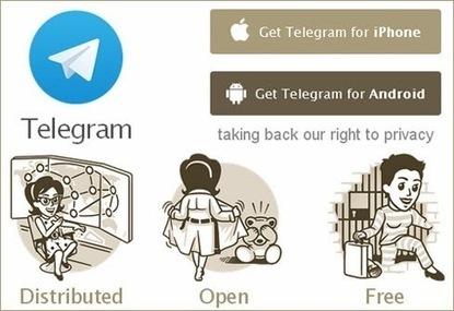 La competencia de whatsapp llamada Telegram por @miguelthepooh para @Panuarve | Desmarcate ¡YA! | Scoop.it