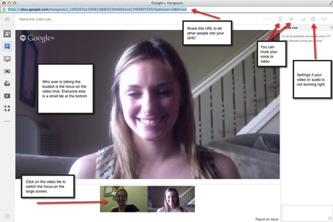 Broadcasting a Google Hangout on Air | mobile apps for grammar learning | Scoop.it