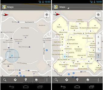 Google Maps Indoor vous guide à l'intérieur des grands édifices | Mobilité | Scoop.it
