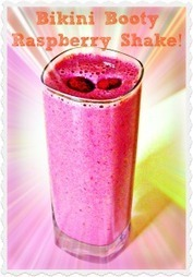 bikini booty raspberry protein shake   My Dream Shape!   Diet And Recipes   Scoop.it