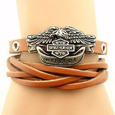 Women's Punk Linen Layered Flower Woven Bracelet | Product We Love | Scoop.it