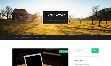 17+Free Responsive Website Template Designs : Free Themes   programming   Scoop.it