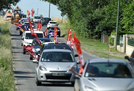 Manif escargot entre Auch et Fleurance contre la Loi Travail | Actus du Gers | Scoop.it
