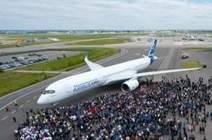 L'Airbus A350 fait une première apparition à Toulouse - Les Échos   Emploi, Travail et Réseaux Sociaux   Scoop.it
