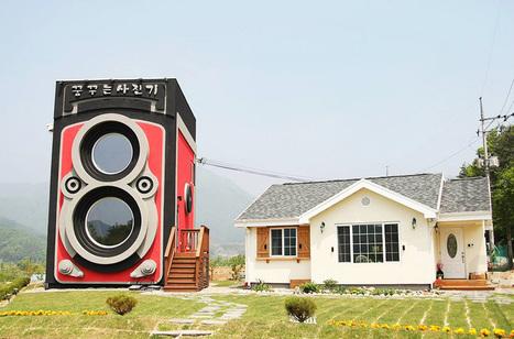 vintage rolleiflex houses dreamy camera cafe in south korean countryside - Designboom   Vintage camera   Scoop.it