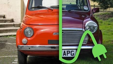 Electrifier les voitures ancêtres pour moins polluer   Voitures anciennes - Classic cars - Concept cars   Scoop.it