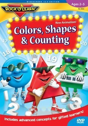 Colors, Shapes & Counting: Rock 'N Learn | Top Toys 2013 | Scoop.it