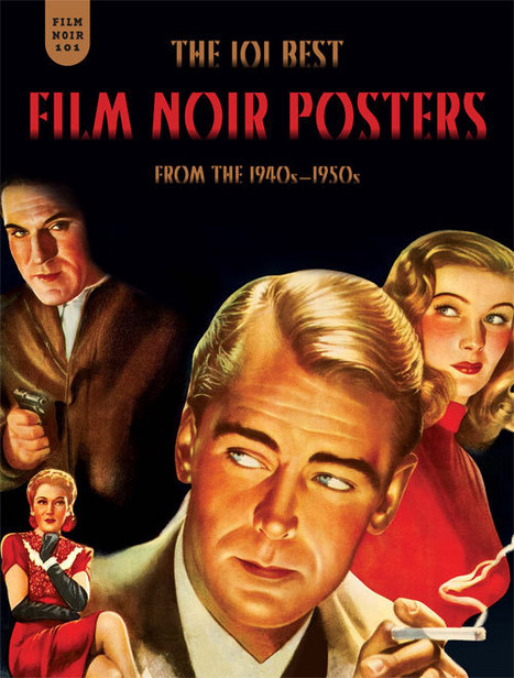 Fantagraphics Books | Comics and Graphic Novels - Film Noir 101: The 101 Best Film Noir Posters from the 1940s | Filmnoirliveshere | Scoop.it